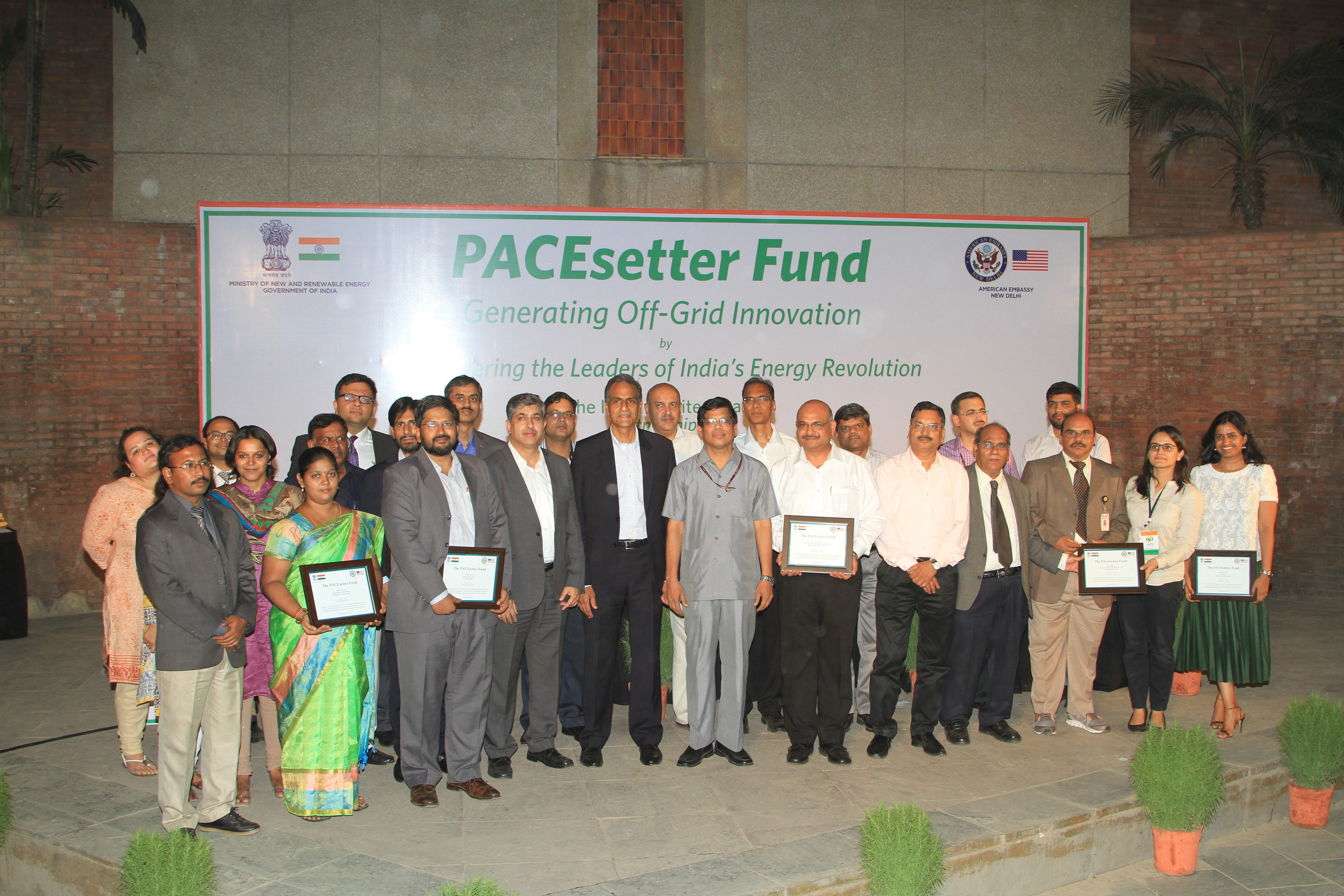 Pacesetter awardees Group photo